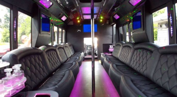Making Burritos on a Party Bus