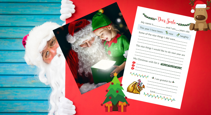 Letter To Santa Tip Make Your self Obtainable